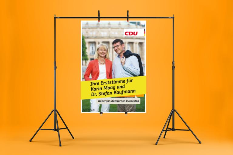 Projekt Bundestagswahl Dr. Stefan Kaufmann, MdB