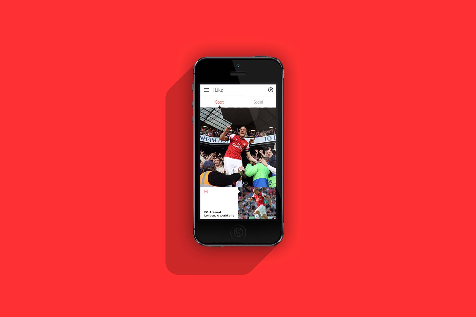 Projekt Lukas Podolski App und Online Shop