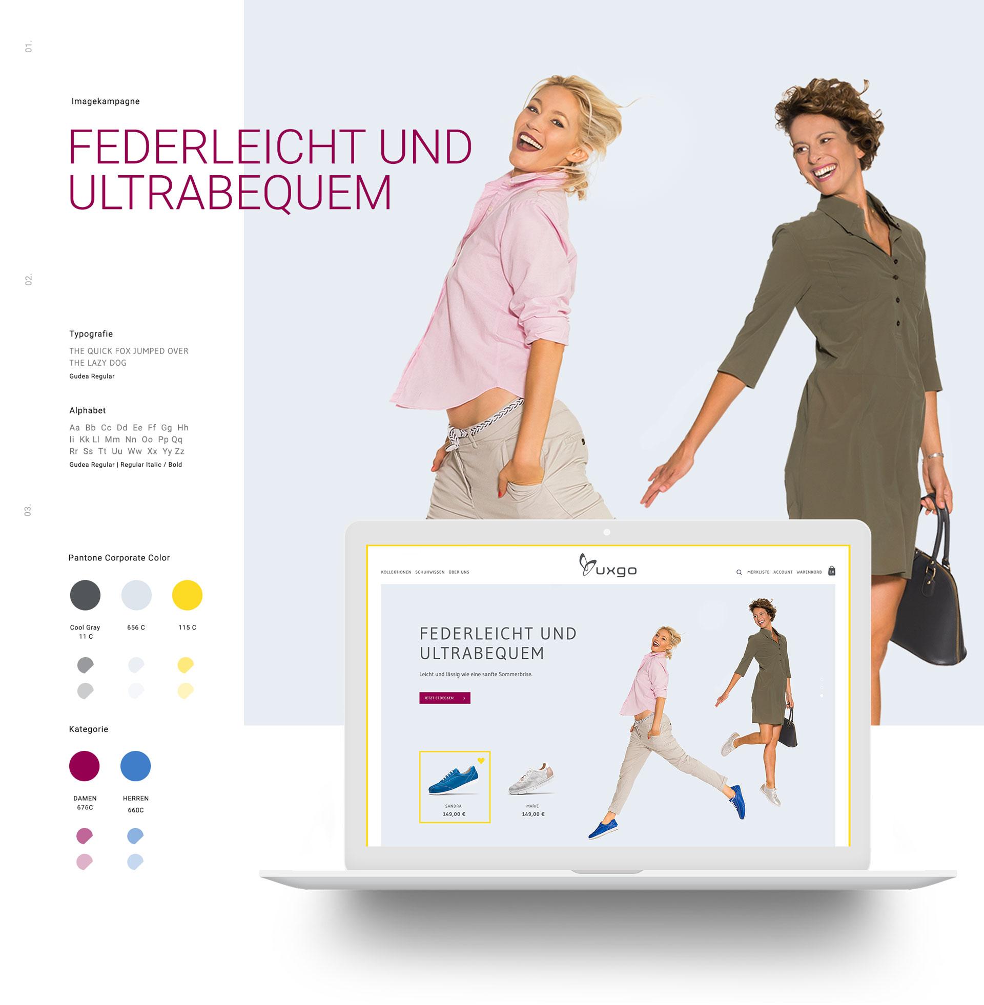 Projekt UXGO Online-Shop